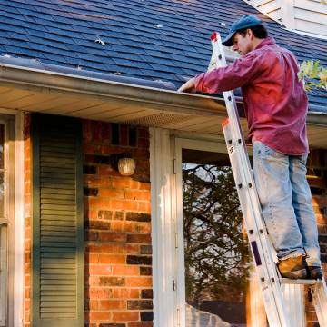 Aluminum Gutter - Roof Repair - Bee Branch, Arkansas