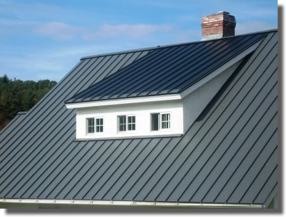 Install Metal Roof Panels