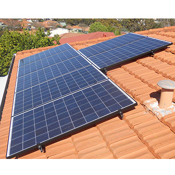 Solar Panel Installation For Tile Roofing