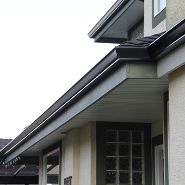 Steel Gutter - Roof Repair - Idaho